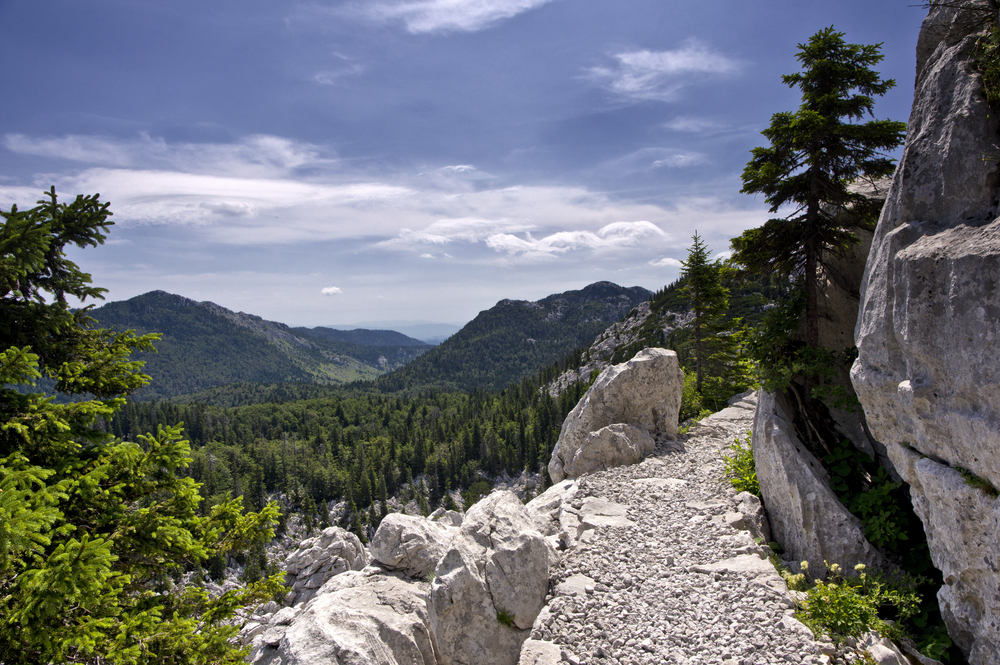 Northern Velebit became one of eight national parks in Croatia back in 1999. This area is intact, wild, and the visit is only allowed on the designated trails.
