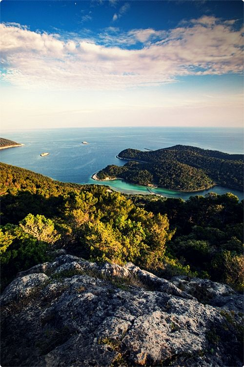Mljet Island is one of the southernmost islands in Croatia. This beautiful, green island is home to the Mljet national park. The park is located in the northern part of the island, and it covers the area of almost 5.400 hectares.