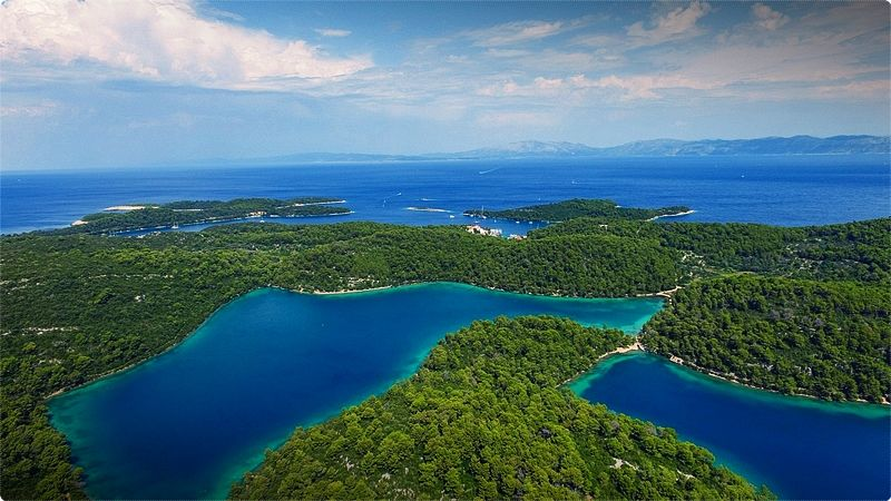 Mljet National Park offers ample possibilities for swimming, snorkeling, hiking, and cycling.