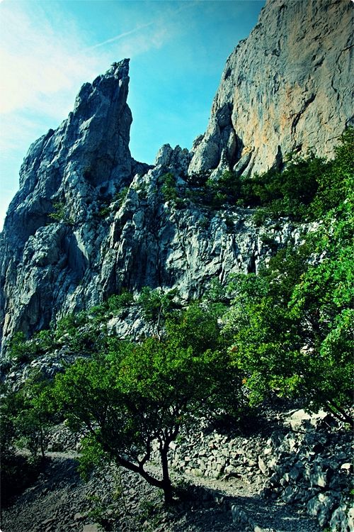 Paklenica National Park is intended for fit hikers and rock climbers, as all trails are intense at least at some parts.
