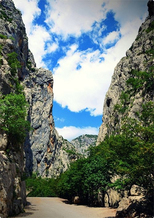Paklenica National Park is a must-visit site for all outdoor lovers. The park stretches over the south slopes of the Velebit mountain.