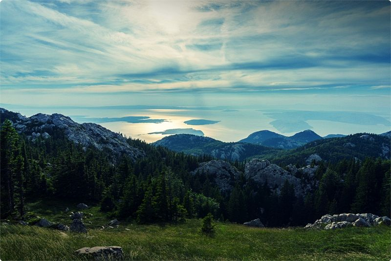Northern Velebit national park consists of numerous botanical reserves, high rising stone masses, and mountaineering trails.