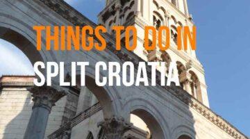 split croatia points of interest