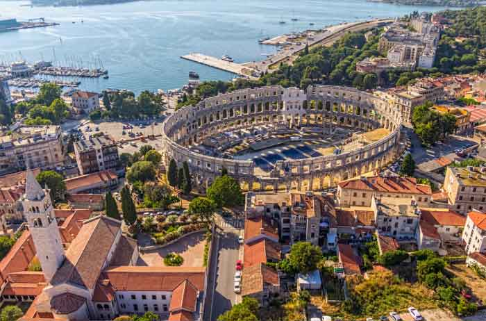 what is pula croatia like